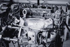 引擎11 库存照片