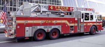 引擎54/Ladder公司4在曼哈顿中城 库存照片