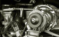 引擎rv葡萄酒 免版税库存照片