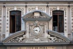 援引De Pera (Çiçek Pasajı) 免版税图库摄影