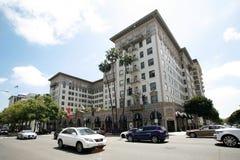 贝弗利Wilshire旅馆在洛杉矶 免版税库存照片