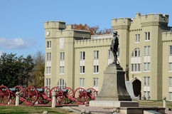 弗吉尼亚军事学院(VMI) 免版税图库摄影