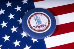 弗吉尼亚州在美国 免版税库存图片