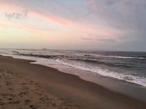 弗吉尼亚海滩微明 库存图片