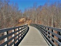 弗吉尼亚爬行物足迹 免版税图库摄影