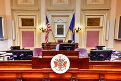 弗吉尼亚状态国会大厦-里士满,弗吉尼亚 免版税库存照片