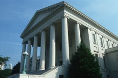 弗吉尼亚状态国会大厦  免版税库存图片