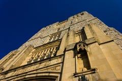 弗吉尼亚理工大学的Burress霍尔 免版税库存图片
