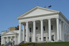弗吉尼亚的国家资本 免版税图库摄影