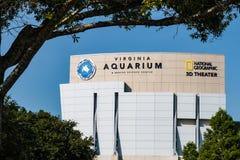 弗吉尼亚水族馆和海洋科学中心 库存图片