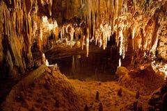 弗吉尼亚Luray洞穴 免版税图库摄影