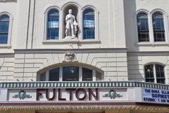 弗尔顿剧院,位于街市兰卡斯特,PA 库存照片