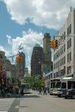 弗尔顿购物中心布鲁克林纽约 免版税图库摄影