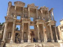 以弗所Celsus图书馆 库存图片