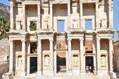 以弗所Efes antik kenti伊兹密尔 免版税图库摄影