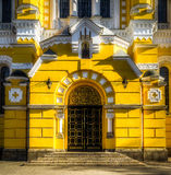 弗拉基米尔大教堂的西部门户 免版税库存图片