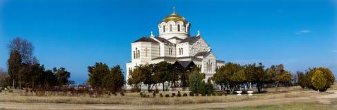 弗拉基米尔大教堂 图库摄影