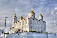 弗拉基米尔市的Uspensky大教堂 图库摄影