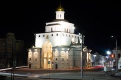 弗拉基米尔市,俄罗斯金门  库存图片