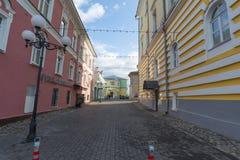 弗拉基米尔,俄罗斯-05 11 2015年 Georgiyevskaya 免版税图库摄影
