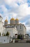 弗拉基米尔,俄罗斯-05 11 2015年 Uspensky大教堂- 图库摄影