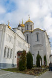 弗拉基米尔,俄罗斯-05 11 2015年 Uspensky大教堂- 免版税库存图片