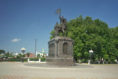 弗拉基米尔,弗拉基米尔地区,俄罗斯- 2016年7月17日:弗拉基米尔王子 免版税库存照片
