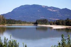 弗拉塞尔河的风景风景 免版税图库摄影