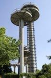 弗拉兴梅多斯光环公园塔 免版税库存照片