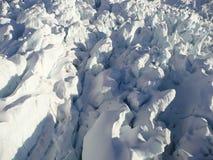 弗朗兹冰川约瑟夫 免版税图库摄影