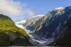 弗朗兹冰川约瑟夫 库存照片