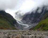 弗朗兹约瑟夫冰川 免版税库存图片