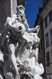 弗朗切斯科罗巴喷泉 免版税图库摄影