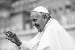 弗朗西斯教皇 库存图片