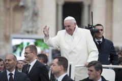 弗朗西斯教皇 库存照片