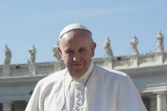 弗朗西斯教皇 免版税库存照片