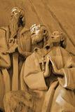 弗朗西斯祈祷的圣徒xavier 库存照片