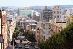 弗朗西斯科・圣街道视图 免版税库存照片