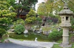 弗朗西斯科庭院日本圣茶 免版税库存图片