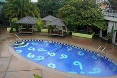 弗朗西斯科旅馆菲尼斯池圣 免版税库存照片