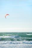 弗朗西斯科风筝圣冲浪 免版税库存照片
