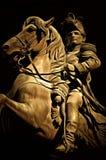 弗朗西斯科Morazà ¡ n雕象,特古西加尔巴 库存照片