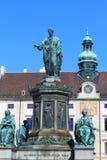 弗朗西斯雕象II -维也纳 免版税库存照片