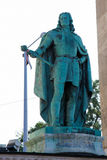 弗朗西斯雕象II Rakoczi在布达佩斯,匈牙利 免版税库存图片