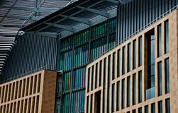 弗朗西斯・克里克学院,圣Pancras伦敦 免版税库存图片