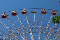 弗累斯大转轮吸引力 免版税图库摄影