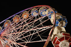 弗累斯大转轮在晚上 免版税库存图片