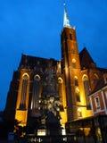 弗罗茨瓦夫哥特式寺庙  大学 免版税库存照片