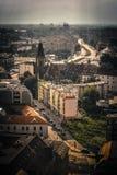 弗罗茨瓦夫市的掀动转移 免版税库存照片