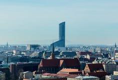 弗罗茨瓦夫,波兰- 2017年3月04日:bea美妙的看法照片  库存图片